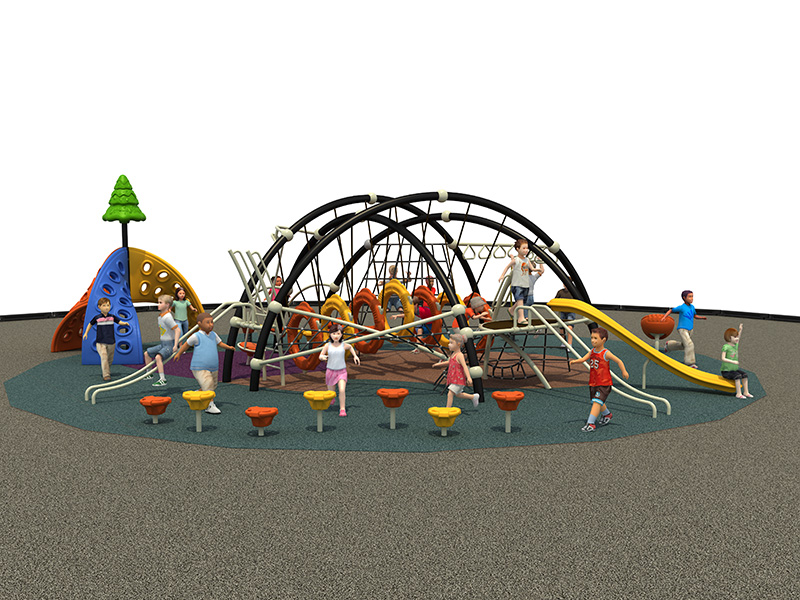 kids outdoor play zone commercial grade playground equipment FY08901
