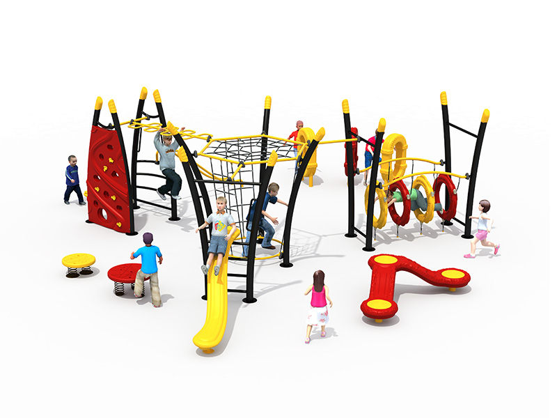 kids outdoor play zone commercial grade playground equipment FY09101