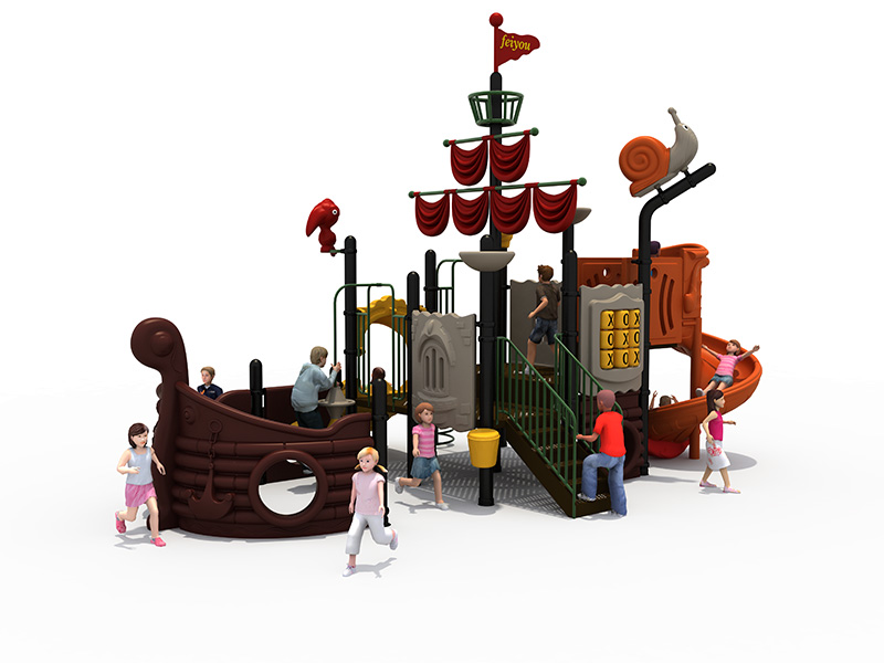 Ship attraction amusement equipment FY06402
