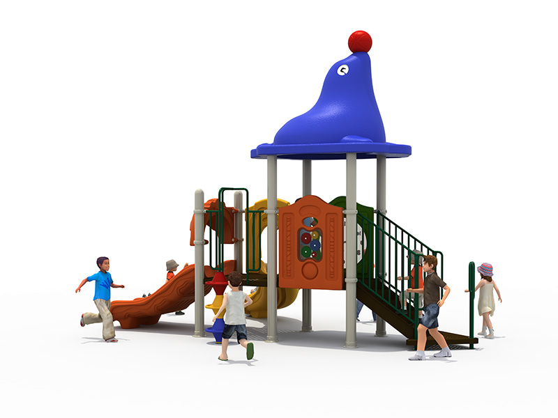 rock climbing wall with slide FY-07601