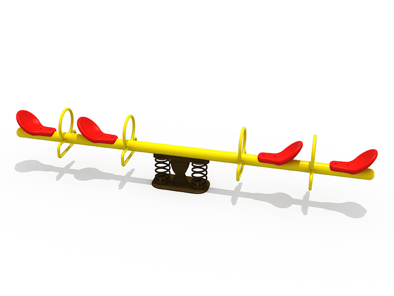 Galvanized Steel Type Outdoor seesaw