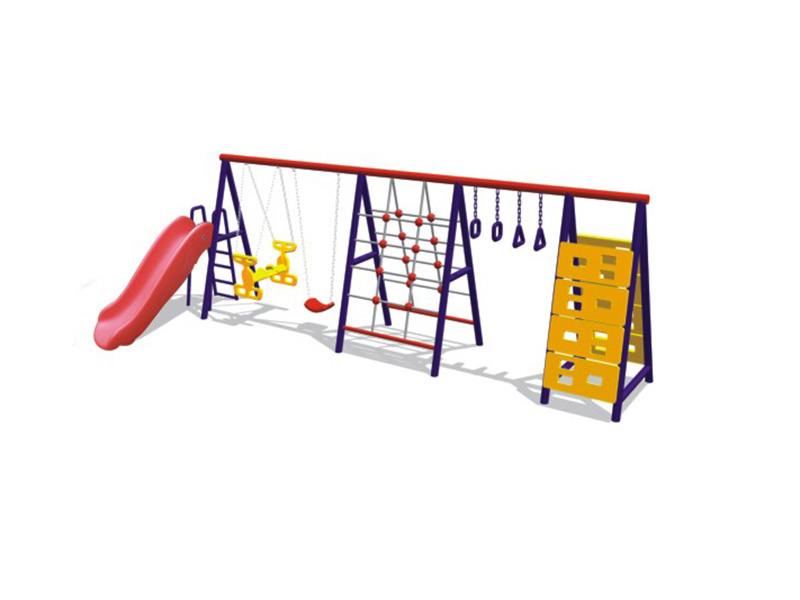 Multifunctional swing,with slide,climbing