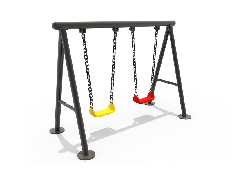 children swing with double sets