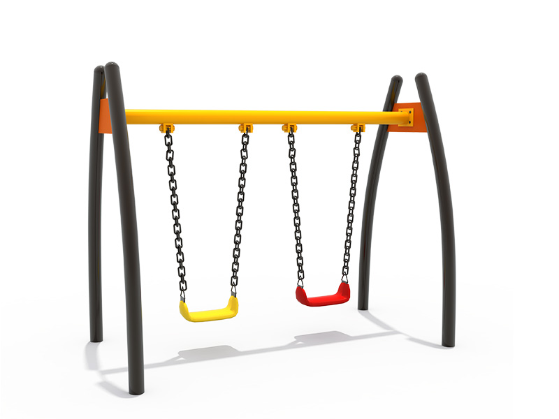 commerical swing sets metal frame