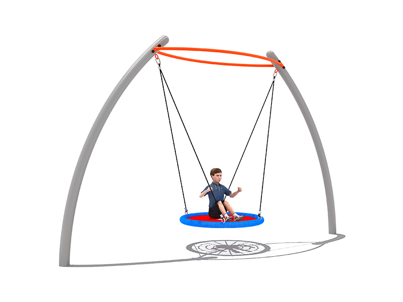 outside swing for kids garden