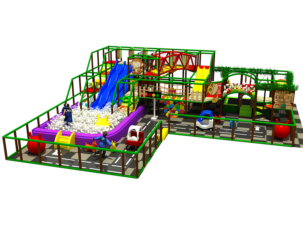 High quality children indoor playground equipment/soft play area