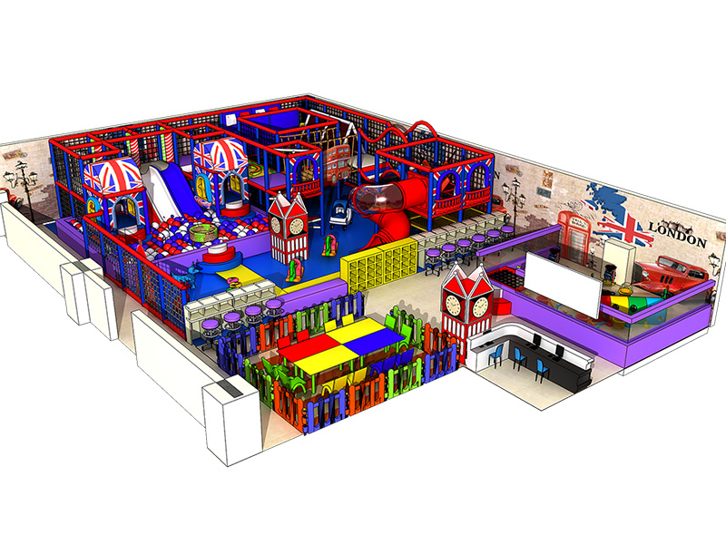 Eco-friendly kids Indoor playground equipment/amusement park