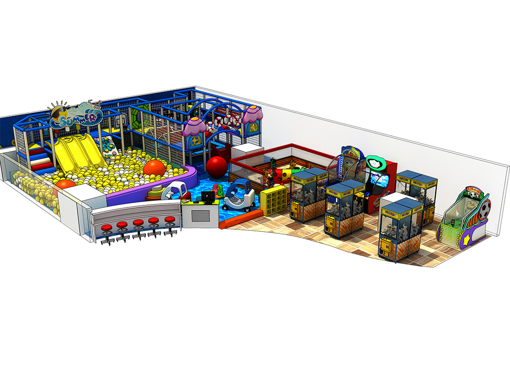 Commercial Ocean theme children zone Indoor playground equipment/amusement park