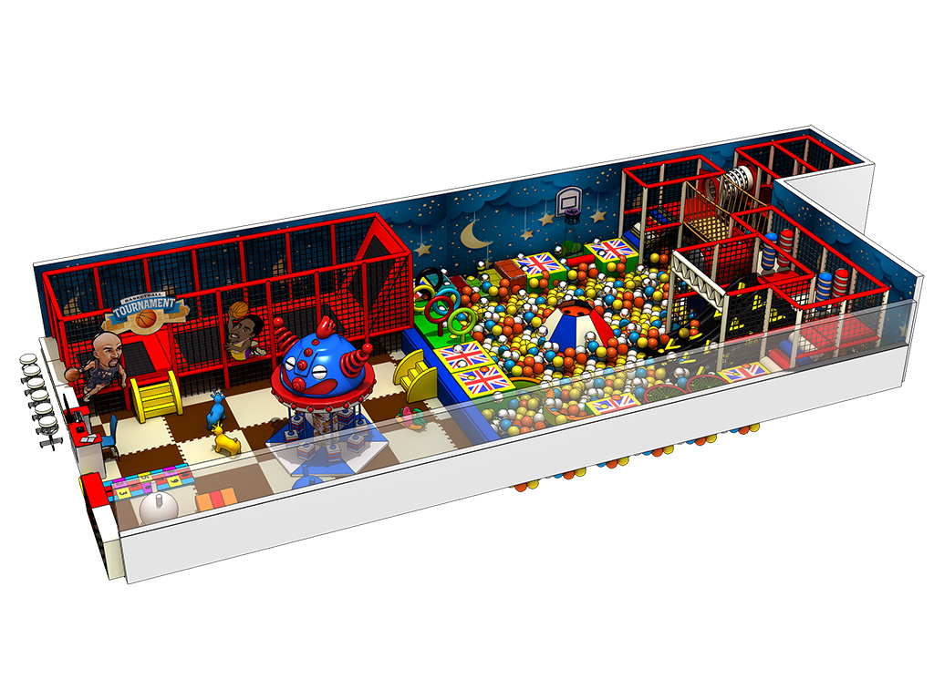 Multifunction Children Indoor playground equipment soft play ball pool
