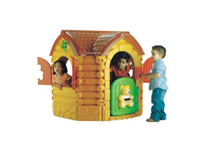 joyful kids plastic indoor soft playhouse for house play