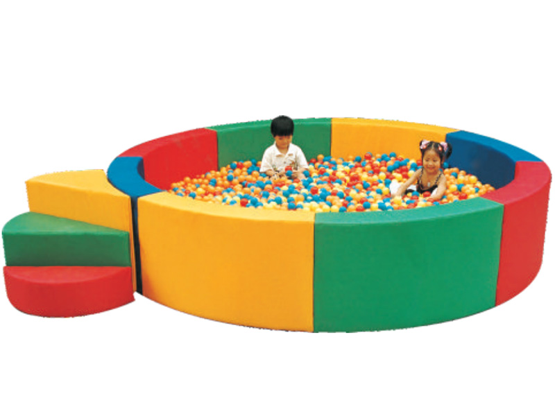 funny children soft play with ball poor