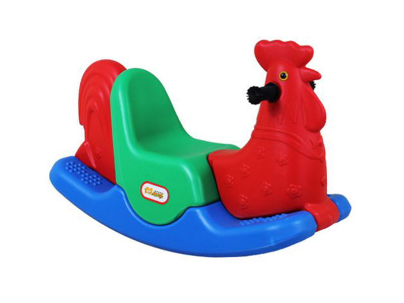 Amusement Equipment Cheap Kids Plastic Toy Colorful Children Animal Rocking horse