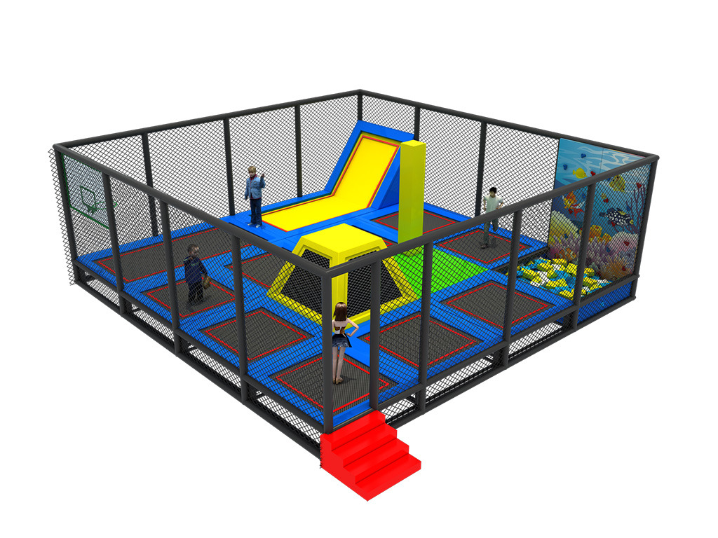 Professional manufacture indoor trampoline park equipment with factory price from Feiyou Amusement
