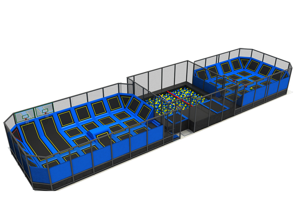 Hot Selling Special Design High Quality producer indoor trampoline court