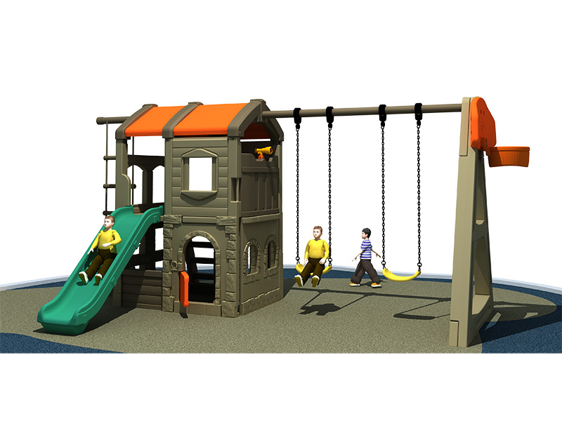 Best selling and Multi-function Combined Type Kids Playground Outdoor Slippery Slide Swing