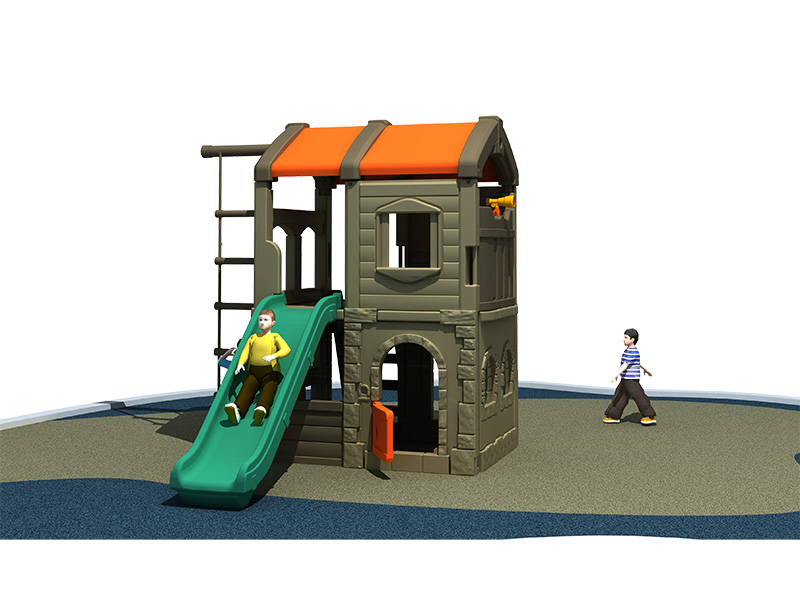 High Quality and special design Combined Type Kids Playground Outdoor with slider for children play