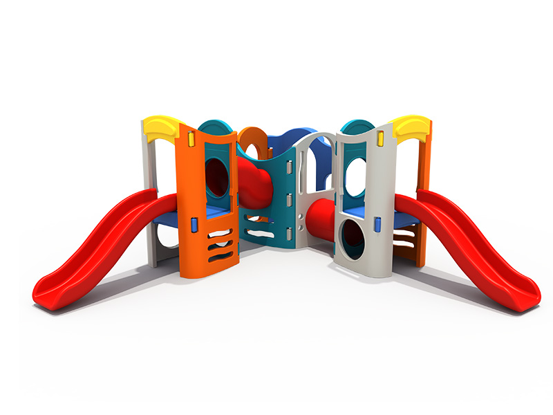FEIYOU Colorful and Multi-function Combined Type Kids Playground Outdoor Slippery Slide Swing