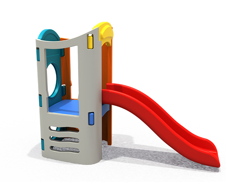 Colorful and good Quality plastic slider indoor playground from Feiyou