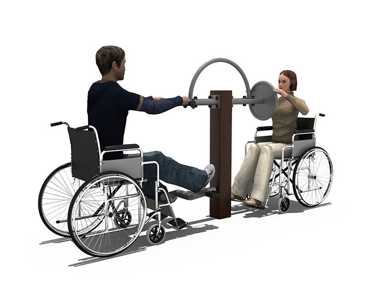 2020 Disabled children exercise Outdoor fitness equipment