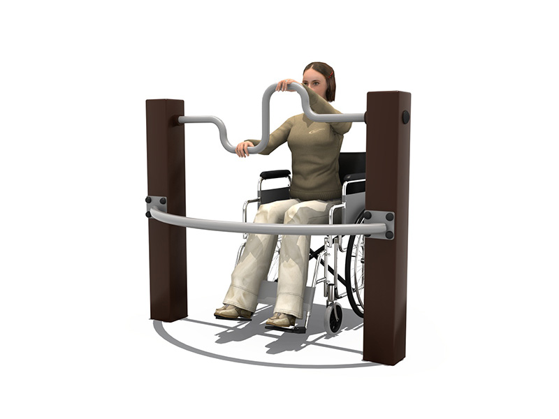 Outdoor & Indoor disabled fitness equipment/Strength training equipment/fitness equipment outdoor Handicap Arms Trainer Station
