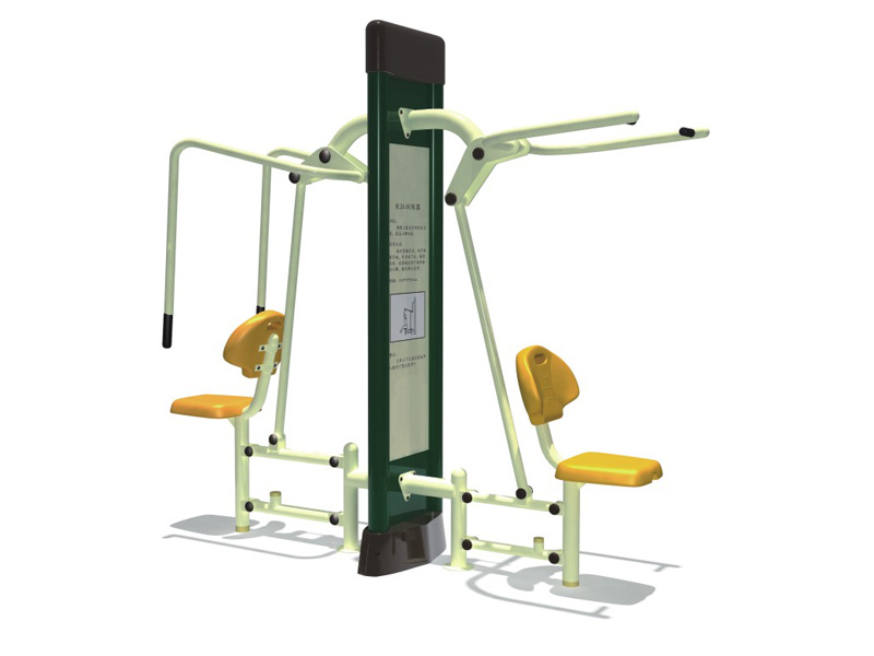 Commercial galvalized steel outdoor gym fitness equipment In China