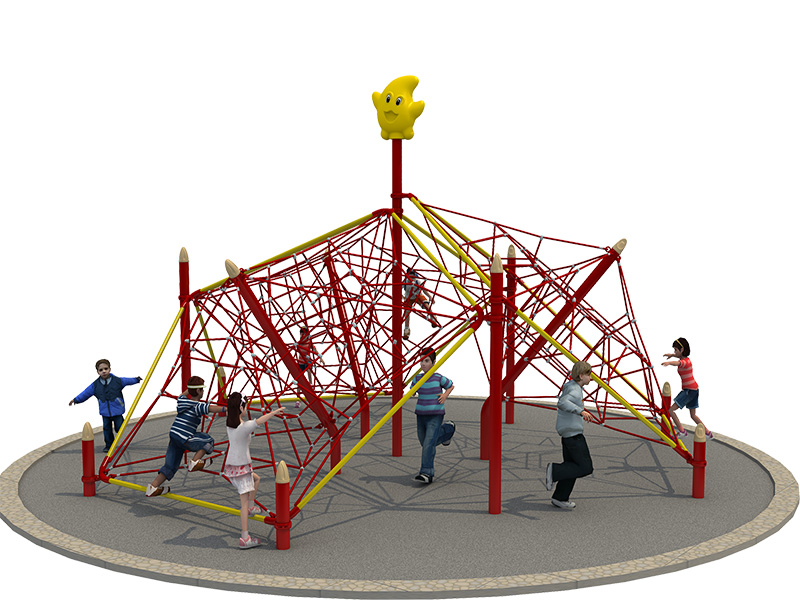 Kids Outdoor Playground Climbing Net Structure Rope Manufacturers