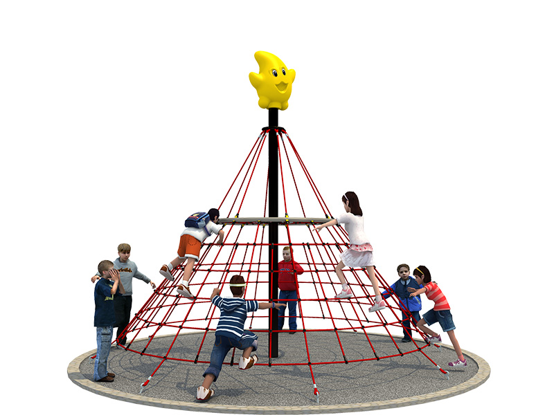 playground climbing rope outdoor climbing rope net for kids