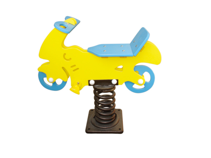 playground outdoor spring toy rider