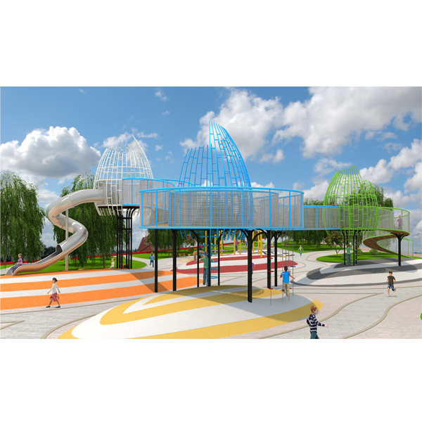 public park outdoor commercial playground equipment